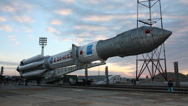 Ракета-носитель Протон М. Архив