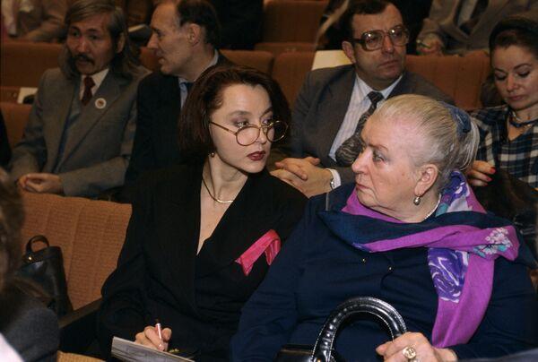 Анастасия Александровна Вертинская и Мария Владимировна Миронова