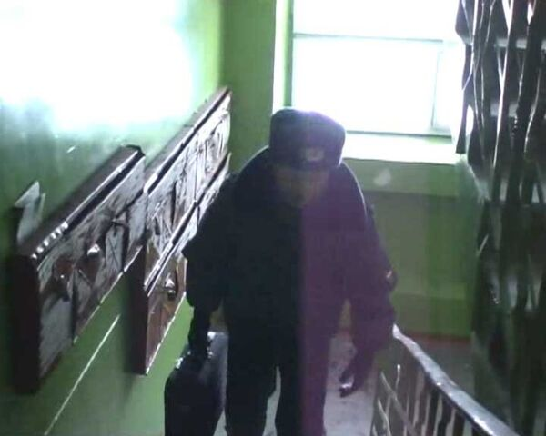 Скриншот видеоролика с места покушении на заместителя главы администрации г.Ангарска Дмитрия Чернышова
