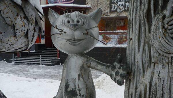 Замена памятника Котенку с улицы Лизюкова будет стоить 800 ...