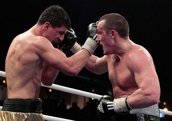 Денис Лебедев (справа) и Марко Хук
