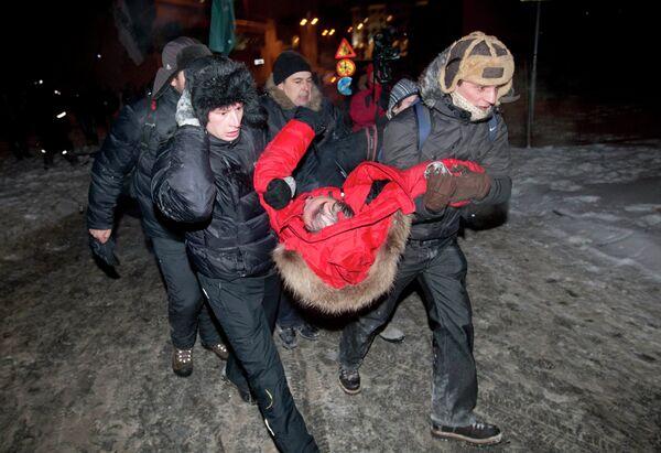 Акция оппозиции в центре Минска