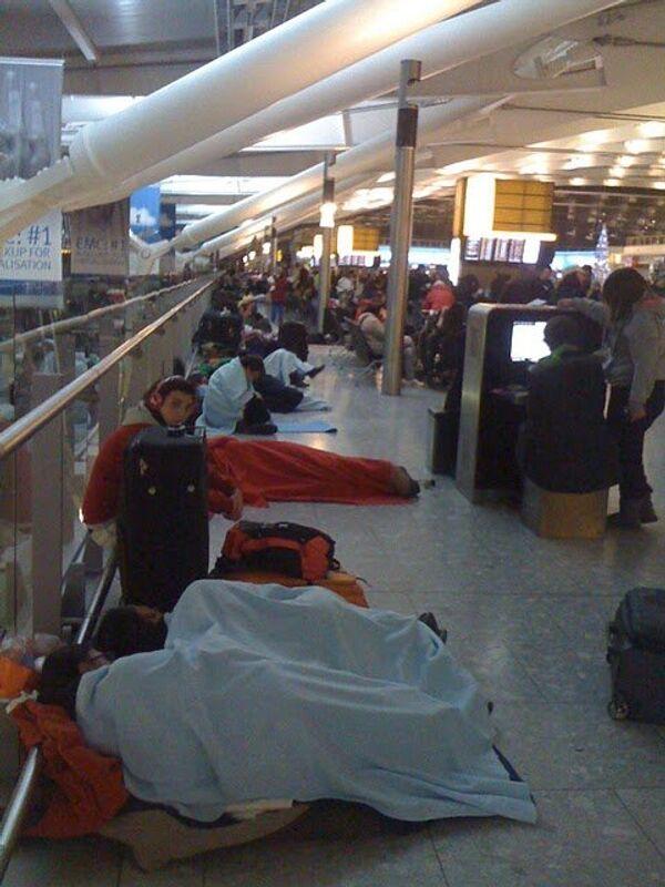 Отмена рейсов в лондонском аэропорту Хитроу