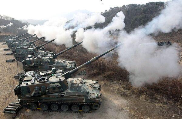 Южнокорейские военные учения