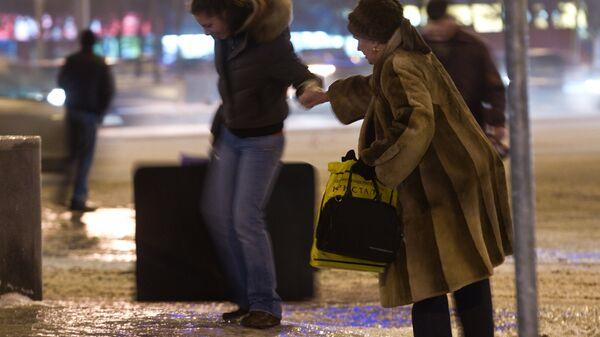 Последствия ледяного дождя в Москве в 2010 году
