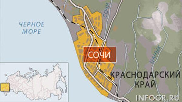 Четыре человека погибли в аварии в Сочи
