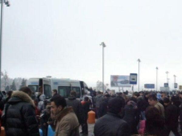 Транспортный коллапс в Домодедово