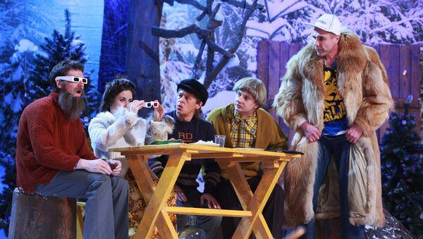 Новогоднее шоу Уральские пельмени- Борода измята. Архивное фото