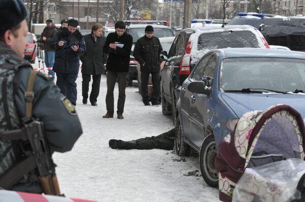 Два инкассатора и прохожий погибли при нападении в Петербурге