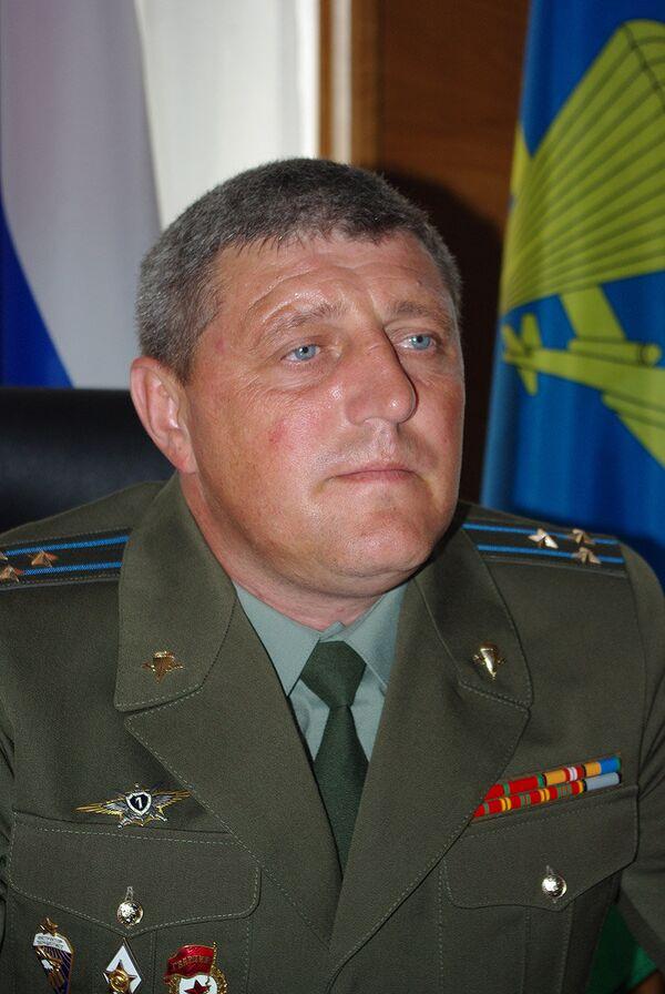 Пострадавший в ДТП с Шамановым и.о. командира тульской дивизии Алексей Наумец. Архив