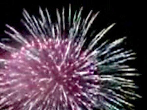 В подмосковном Королеве в новогоднюю ночь устроили красочный фейерверк