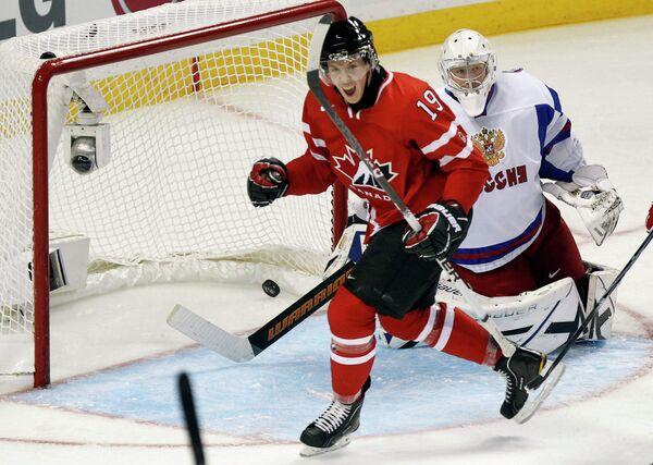 Финальный матч молодежного чемпионата мира по хоккею-2010. Россия-Канада.