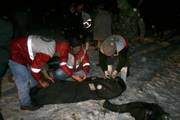 Жертвы крушения пассажирского самолета Boeing-727 на северо-западе Ирана 9 января 2011 года