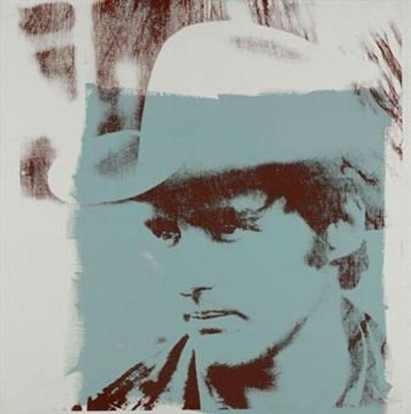 Энди Уорхол. Портрет Денниса Хоппера. 1971 год