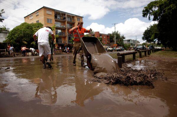 Последствия наводнения в Австралии