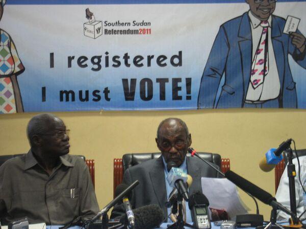 Председатель комиссии по проведению референдума в Судане Мухаммед Ибрагим Халиль