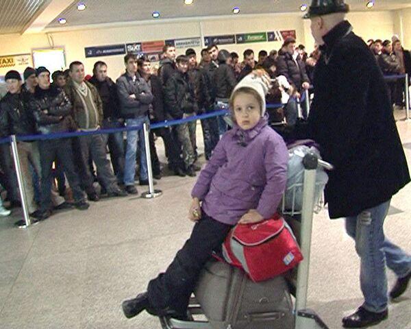 Самолет доставил из Туниса в Москву 240 российских туристов