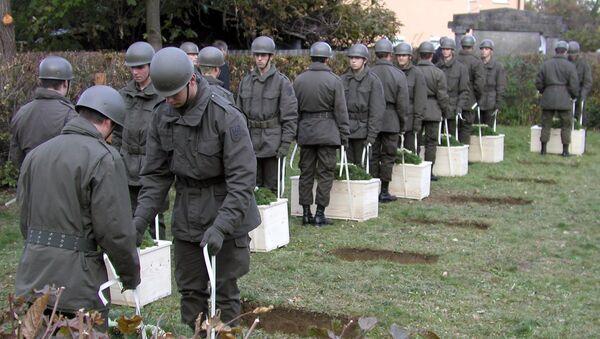 Австрийские военные. Архив