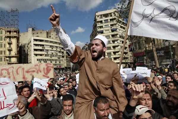 Антиправительственные выступления в Каире