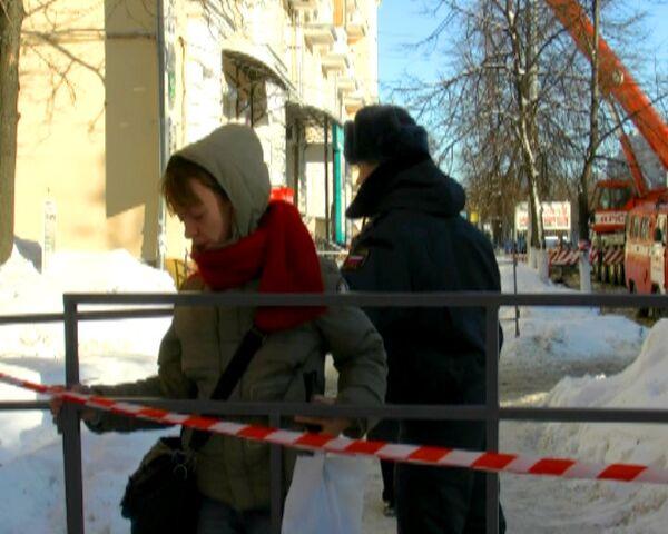Жильцы обрушившегося в Ярославле дома смогли забрать личные вещи