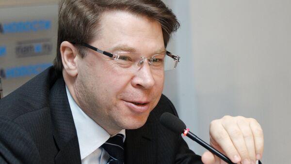 Пресс‑конференция Генерального директора Федерального сетевого оператора НИС ГЛОНАСС Александра Гурко