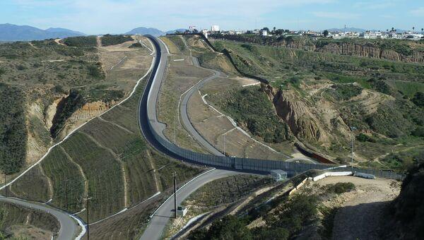 Граница США и Мексики. Архивное фото.