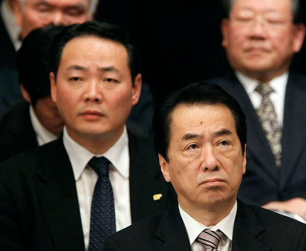 Выступление премьер-министра Японии Наото Кана