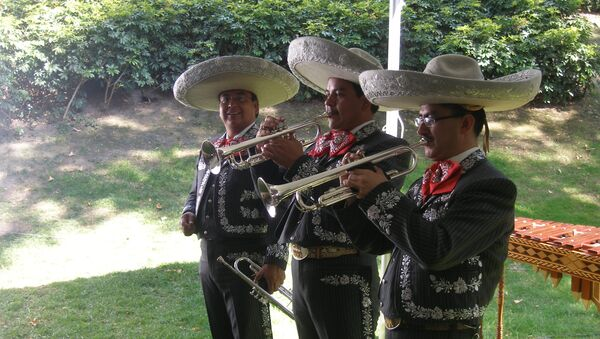 Мексиканские марьячи. Архивное фото