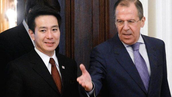 Встреча министров иностранных дел России и Японии
