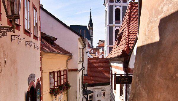 Старый город Крумлова включен в Список Всемирного наследия ЮНЕСКО