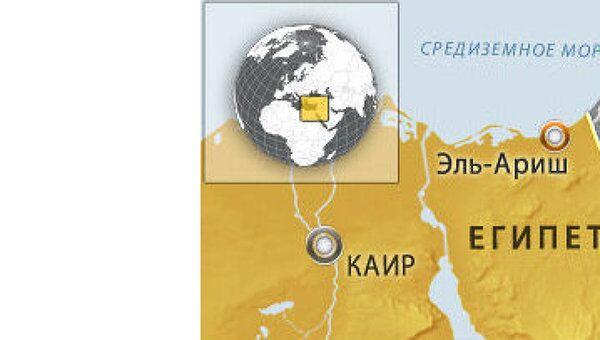 Пожар на подорванном газопроводе в Египте потушен