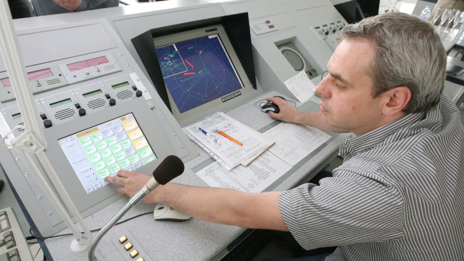 Работа авиадиспетчера - РИА Новости, 1920, 25.01.2021