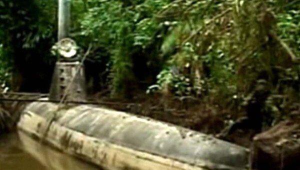 Военные нашли 30-метровую самодельную подлодку наркомафии