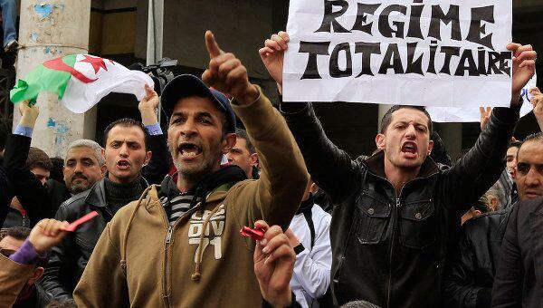 Беспорядки в Алжире