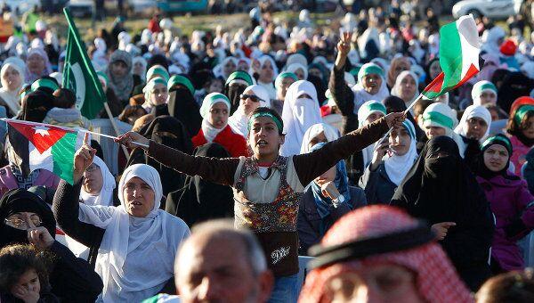 Беспорядки в Иордании