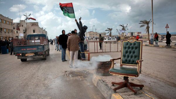 На улице в Бенгази