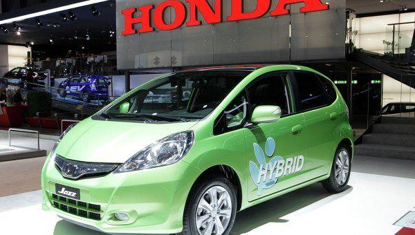 Автомобиль Honda Jazz. Архив