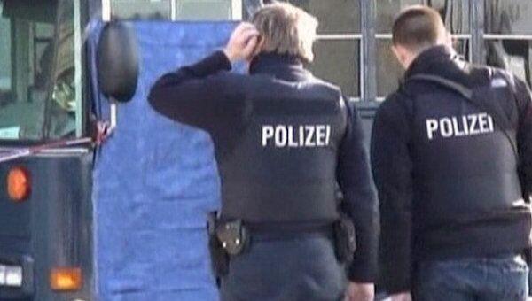 Обстрел в аэропорту Франкфурта-на-Майне. Видео с места ЧП