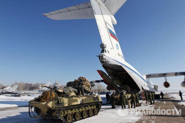 Учения воздушно-десантных войск в Рязанской области
