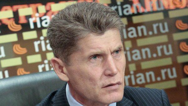 Губернатор Амурской области Олег Кожемяко. Архив