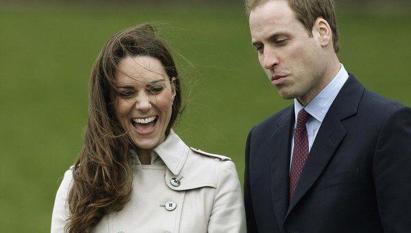 Британский принц Уильям и его невеста Кейт Миддлтон в Северной Ирландии