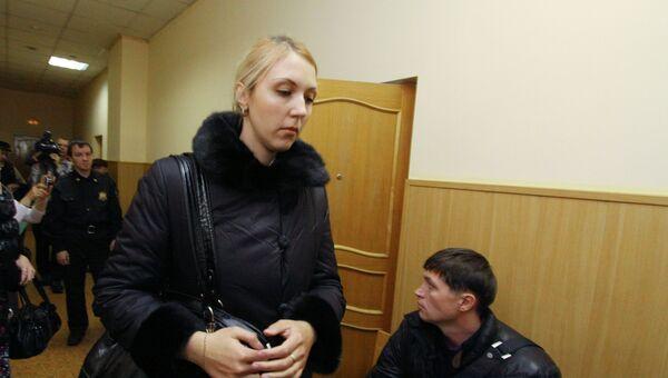 Заседание суда по делу Анны Шавенковой. Архив