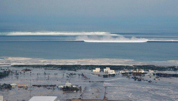 Последствия землетрясения и цунами в японской префектуре Мияги
