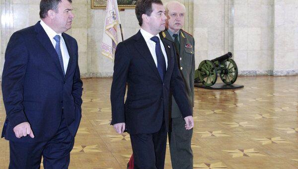 Выступление Дмитрия Медведева на расширенной коллегии министерства обороны РФ