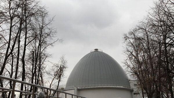Подготовка к открытию Московского планетария