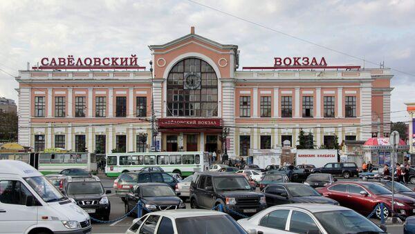 Савеловский вокзал. Архивное фото