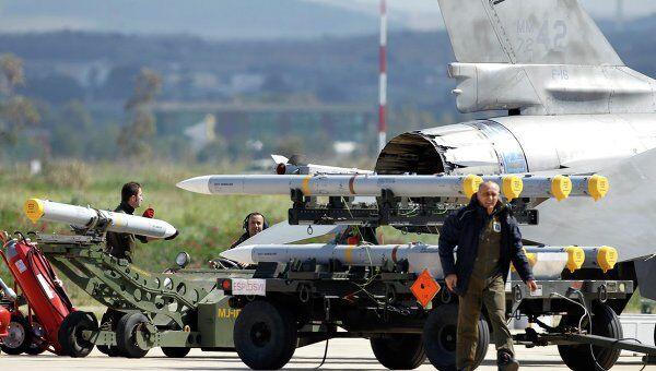 Авиабаза НАТО в Трапани