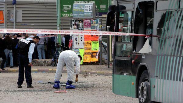 Взрыв в салоне автобуса в Иерусалиме
