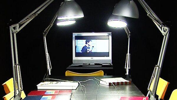 Живой глаз и 3D-видеоинсталляцию представили на выставке Инновация