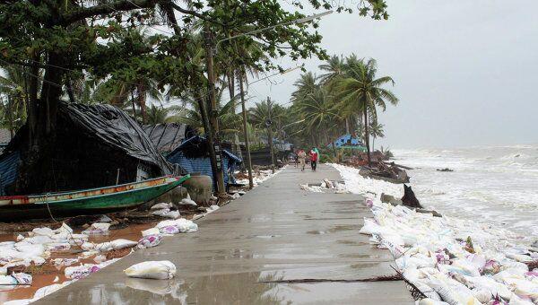 Последствия наводнения на юге Таиланда